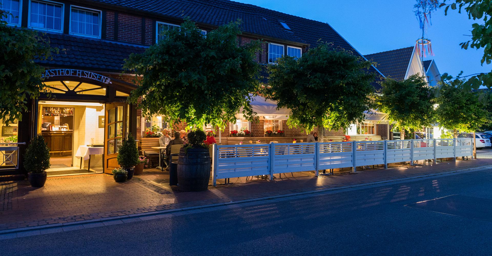Biergarten und Gasthof Susen im Rheinischer Hof in Dinklage