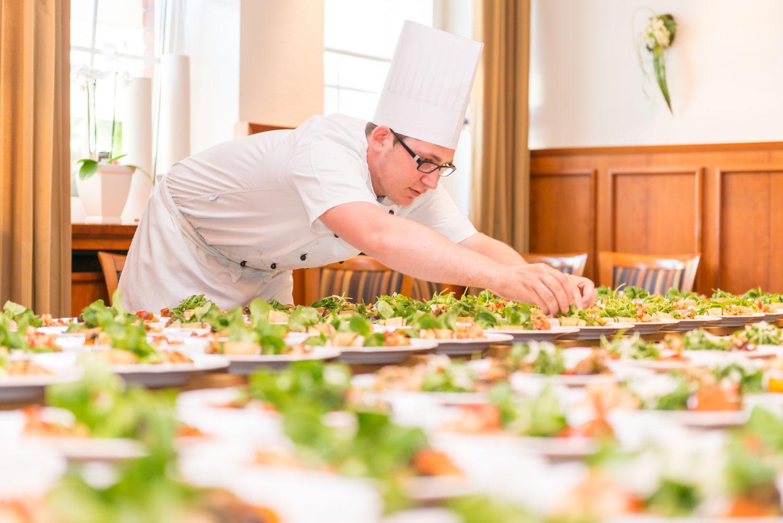 Catering Team des Rheinischen Hof in Dinklage in Niedersaschen