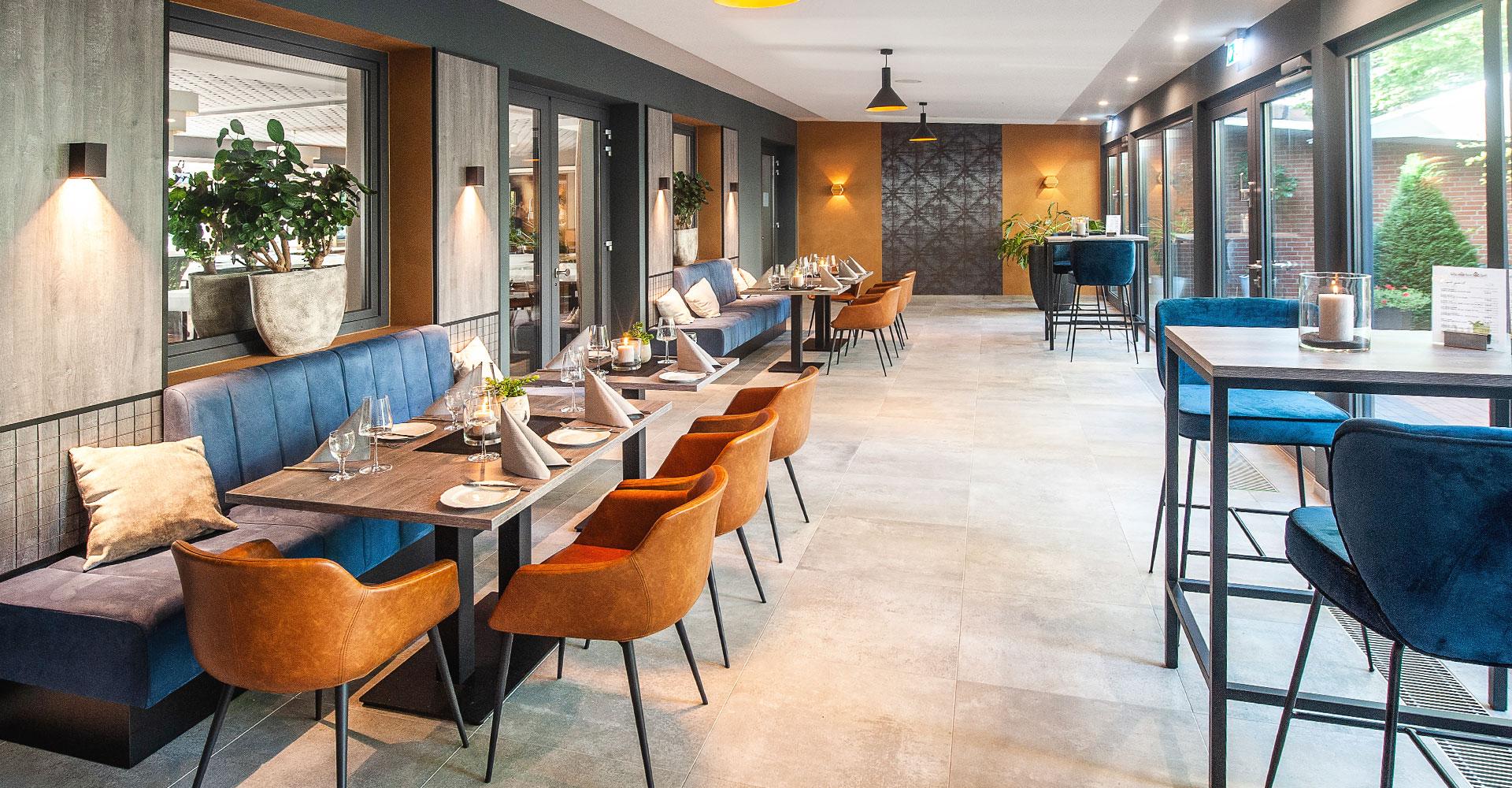 Einblick Hotel und Restaurant in Dinklage