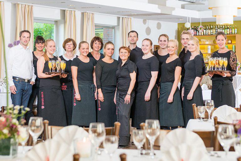Team des Gasthof und Restaurant Rheinischer Hof in Dinklage